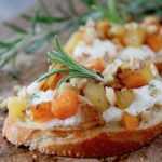 Envy Apple and Butternut Crostini